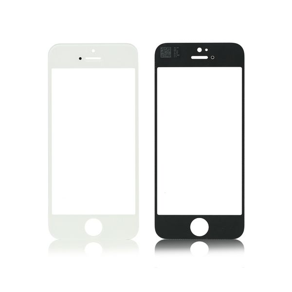Replacement LCD Front Touch Screen Glass Outer Lens for iPhone 5 5G 5S 5C White and black